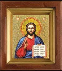 Икона Спаситель в киоте